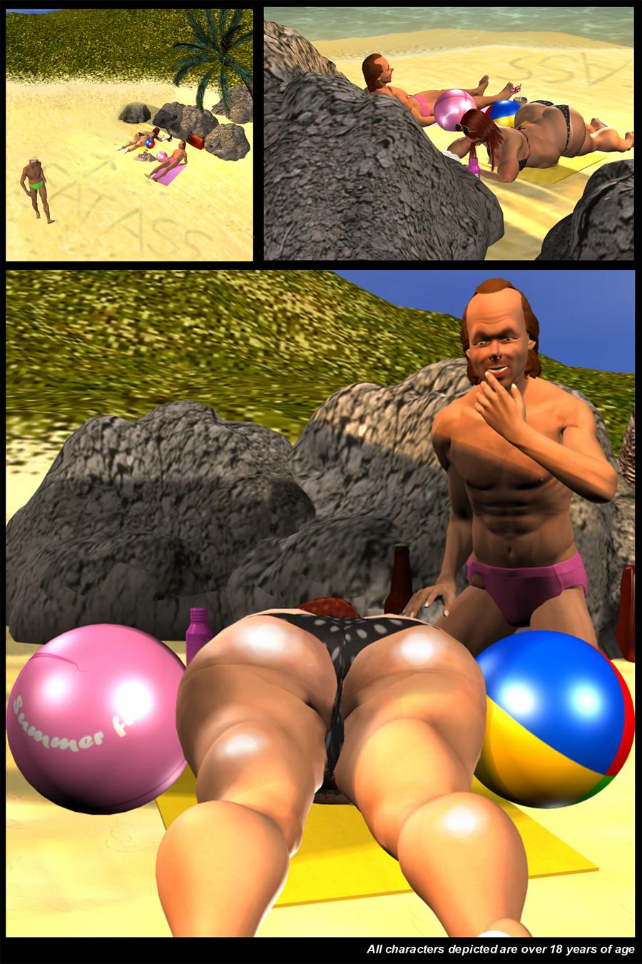 Big fat beach balls